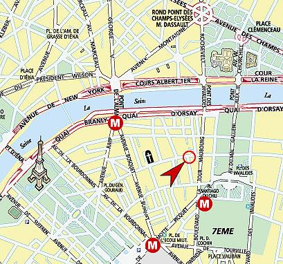 Auteuil Tour Eiffel Paris France